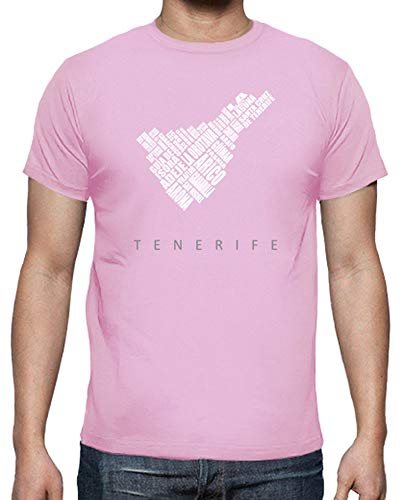 latostadora - Camiseta Tenerife - Color para Hombre Rosa S