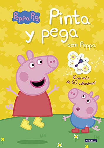 Pinta y pega con Peppa (Peppa Pig. Actividades): (Incluye adhesivos)