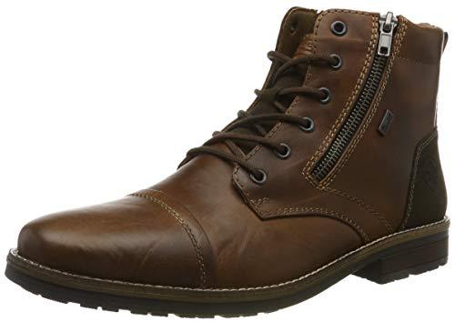 Rieker Męskie 33200 modne buty, brązowy - Braun Amaretto Moro Mogano 24-43 EU