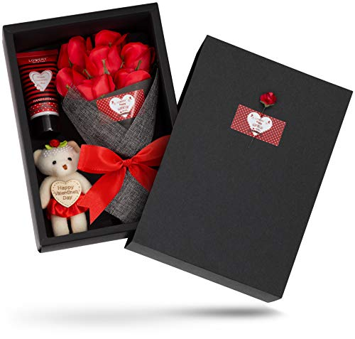 Valentine's Bath and Body Gift Baskets for Women