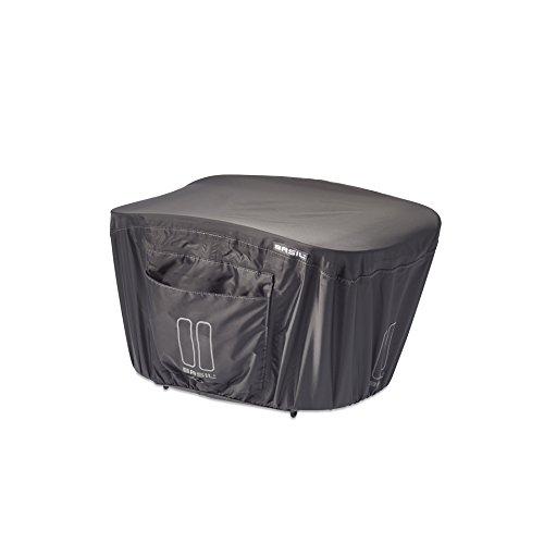 Basil Unisex– Erwachsene Regenschutzhaube-2128063300 Regenschutzhaube, Schwarz, One Size