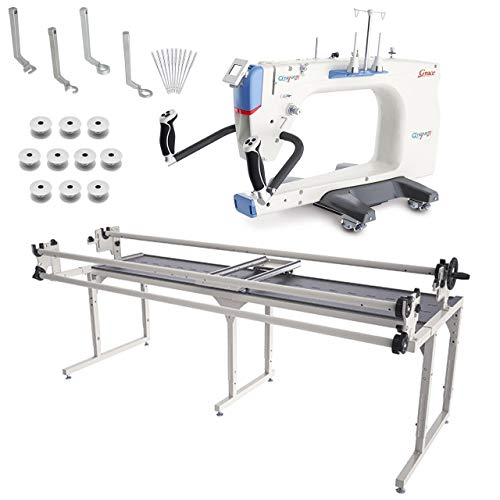 Review Of Grace Q'nique 21 Longarm Quilting Machine with Continuum 8' Quilting Frame Plus Bonus Bund...