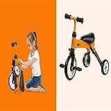 NUBAO Trike triciclo triciclo para niños triciclo plegable pedal scooter bicicleta equilibrio bicicleta (color: naranja) triciclos para niños de 1 a 3 años (color naranja)
