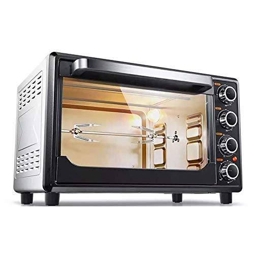 ZMXL Mini Desktop Multi-Function Electric Oven Oven Multifunctional Household Oven 32L Large Capacity 1600W High Power 120min Timing Household Baking Machine 220V Kitchen Tools