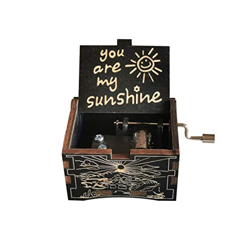 ZUGATI You Are My Sunshine Music Box- Wood Music Boxes Gifts For Son,...