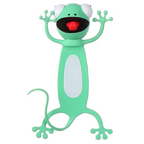 Witzige 3D Cartoon Tier-Lesezeichen - Lustiges Geschenk für Kinder und Erwachsene (G)