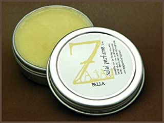 Bella Solid Perfume by ZAJA Natural - 1 oz This Smells Like Bobbi Brown Baby - Notes of Honey, Amber, and Vanilla mingled with Leafy Greens, Orange Flower, Spice, Peach