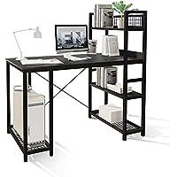Foenoel Computer 47 Inch Desk with Storage Tower Shelf