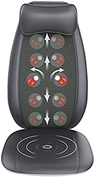 RENPHO S-Shaped Shiatsu Massage Seat Cushion Back Massager