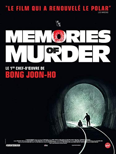 Memories of Murder Original-Poster (Format 160 x 120 cm, gefaltet) Bong Joon Ho
