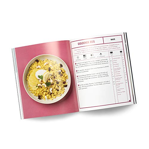 Reishunger Reiskocher Kochbuch - 24 Rezepte für deinen Digitalen Reiskocher & Digitalen Mini Reiskocher - Vegan, vegetarisch, mit Fisch & Fleisch