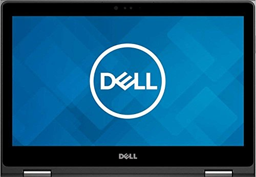 Latest_Dell 2-in-1 13.3 inch 7000 Series Full HD Touch Screen 360° flip-and-fold Laptop, AMD Ryzen 7, AMD Radeon RX Vega 10, 12GB RAM, 256GB SSD, Webcam, Backlit Keyboard, HDMI, Era Gray, Windows 10