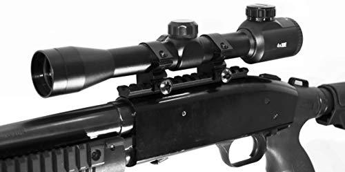 TRINITY Mossberg 500/590/835 Scope Mount 4x32 Rangefinder Reticle Scope Optic Hunting Tactical Spotting Aluminum Black Picatinny Weaver Base Mount Adapter Single Rail.