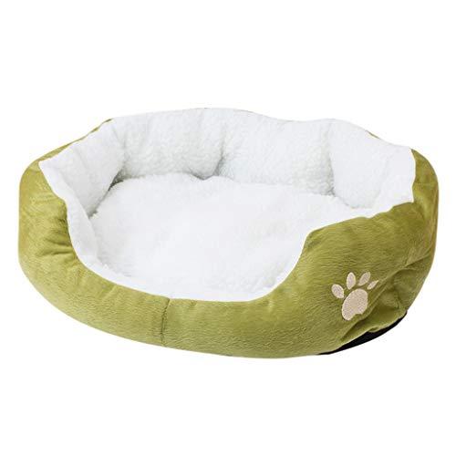 Kolylong® Hundesofa Warm Waschbar Hundebett für kleine und große Hunde Hundekorb Haustierbett Rutschfester Weich Abwaschbar Hundekisten Hundedecke Hundematte 50cm x 40 cm