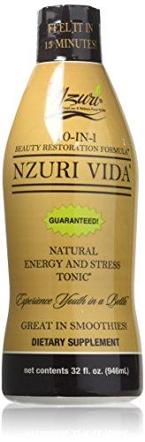 Nzuri Vida 10 In 1 Beauty Restoration Tonic, 32 Ounce