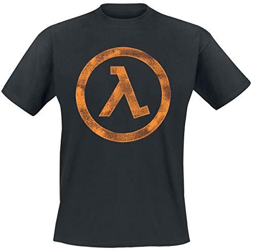 Half-Life 2 - The Orange Box Lambda T-Shirt schwarz S
