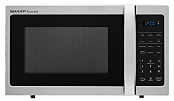 Sharp Microwaves ZSMC0912BS Sharp 900W Countertop Microwave Oven 0.9 Cubic Foot Stainless Steel
