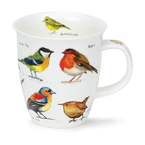 Dunoon Nevis - Taza (porcelana), diseño de pájaros