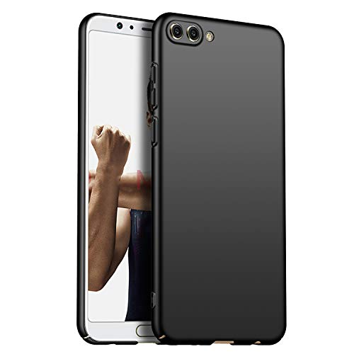 N+A Amosry Funda Huawei Honor View 10,Absorción de Golpes Anti-Rasguños PC Esmerilado Funda Protectora para,Mate para Huawei Honor View 10 (Negro)