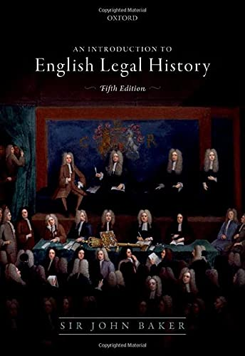 Compare Textbook Prices for Introduction to English Legal History 5 Edition ISBN 9780198812616 by Baker, John