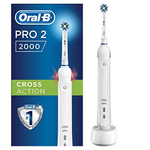 Braun Oral-B PRO 2000/ PRO 2 - 2000NCrossAction 2-Mode batería para cepillo...