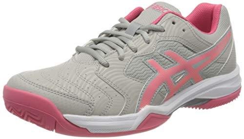 Asics Gel-Dedicate 6 Clay, Tennis Shoe Mujer, Oyster Grey/Pink Cameo, 38 EU