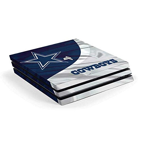 Skinit Decal Gaming Skin Compatible with PS4 Pro Console - Officially Licensed NFL Dallas Cowboys Design