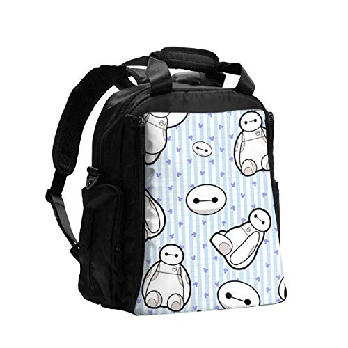 IUBBKI Diaper Bag Backpack Baymax Multifunction Travel Back Pack Shoulder Bag Maternity Nappy Baby Bag with Changing Pad
