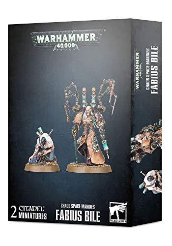 Warhammer Games Workshop 40K - Chaos Space Marines: Fabius Bile