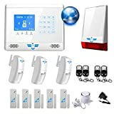ITALIAN ALARM Antifurto Casa Wireless KIT CONNECTION mod 2021 con connessione INTERNET wifi, Combinatore GSM app Gratuita Android/IOS, completamente configurato + videotutorial + istruzioni italiano