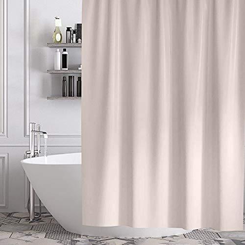 Gricol Duschvorhang wasserdicht formbeständig Bad Vorhang Thick Duty Stoff Waschbar Stilvolle und Wasserabweisende Duschkabine für Bad Vorhänge