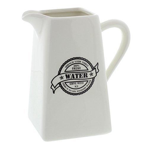 Juliana Home Living Typography 17cm China / Porcelain Water Jug