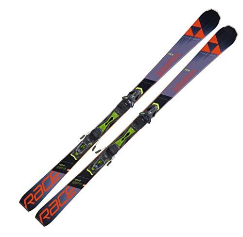 Fischer Herren Skier The Curv Race Ti inkl. Bindung RC4 Z11GW Grip Walk schwarz/orange (704) 164