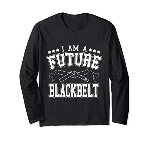 I Am A Future Blackbelt Self Defense Instructor Langarmshirt