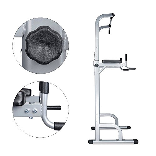 Product Image 7: Ainfox Power Tower, Capacity 550 Lbs Pull Up Bar Tower Dip Stands Fitness Gym Office