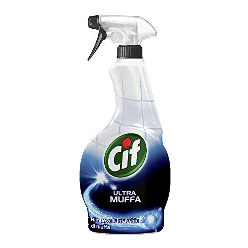 Cif Ultra Muffa Spray Detergente Multisuperfici Antimuffa, Maxi Formato, 500 ml