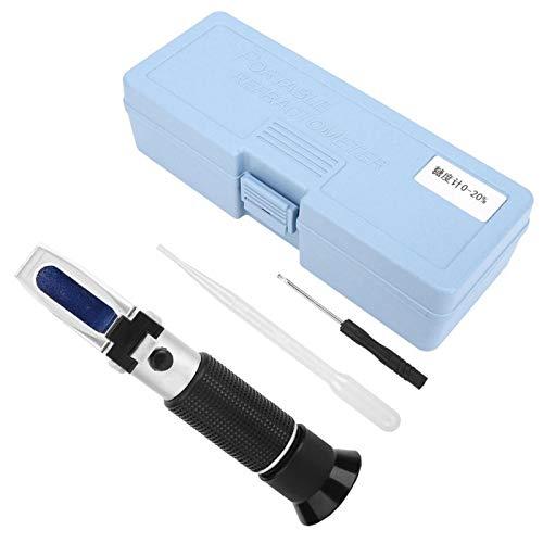 Herramienta de mano, medidor de prueba de azúcar duradero, para jugo de fruta, prueba de azúcar líquido, dulces líquidos para el hogar
