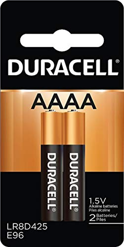 Duracell Specialty Alkaline AAAA Batteries, 1.5V, 2/Pack