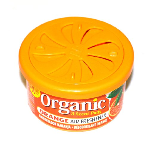 Organic Can Autoduft die Duftdose fürs Auto in Orange
