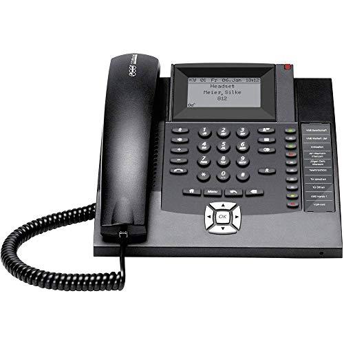 Auerswald 90065 COMfortel 1200 Systemtelefon, ISDN Freisprechen Beleuchtetes Display Schwarz