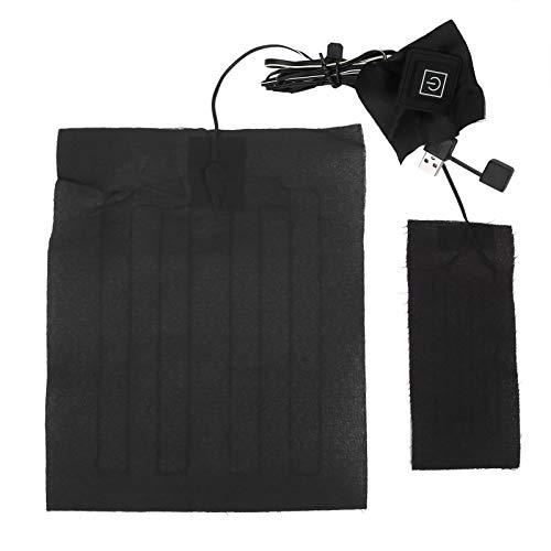 Wosune Elektrisches Heizkissen, weiches Kleidungsheizkissen, leicht verstellbares Tragbares für Westenkleidung