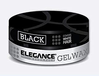 Elegance Hair Styling Color Wax BLACK