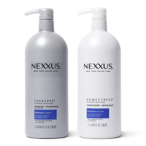 Nexxus New York Salon Care Shampoo and Conditioner, Therappe Humectress 33.8 oz, 2 ct by Nexxus