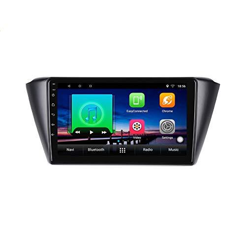 Lettore multimediale DVD per auto Android 10.0 GPS per Skoda Fabia 2015 2016-2019 navigazione stereo per autoradio