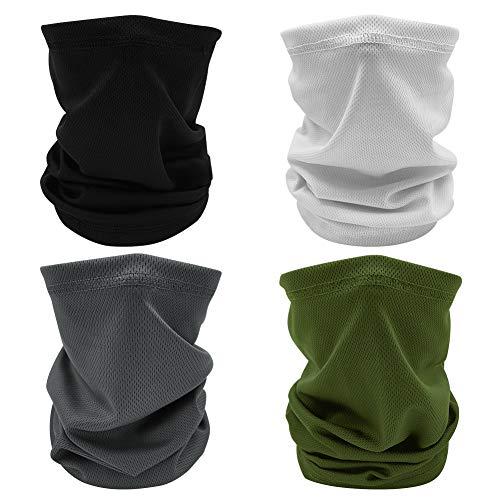 Neck Gaiter Face Mask Scarf Bandana Headwear Sun Protect for Fishing Motorcycle