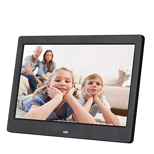 Hoeveelheid 88 10 inch digitale fotolijst, HD 1024 x 600 digitale fotolijst, IPS-scherm met elektronische reclamespeler met afstandsbediening, kalender, klok, auto op uitschakelfunctie