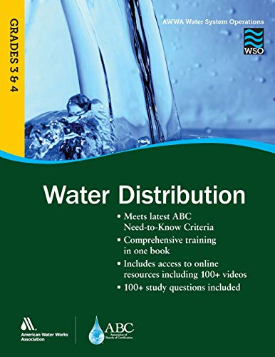 Compare Textbook Prices for WSO Water Distribution, Grades 3 & 4 AWWA's Water System Operations Illustrated Edition ISBN 9781625761279 by AWWA