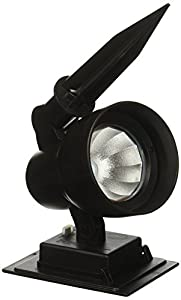 BOSTON HARBOR SS9P P3 BK 1 30 Lumen Solar Floodlight Black