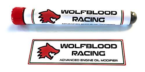 Wolfblood Racing Motor-Ölmodifikator 99,9% 0,6 Mikron APS WS2 Pulver Additiv 25 g - Reibungsreduzierer - behandelt 5 Liter