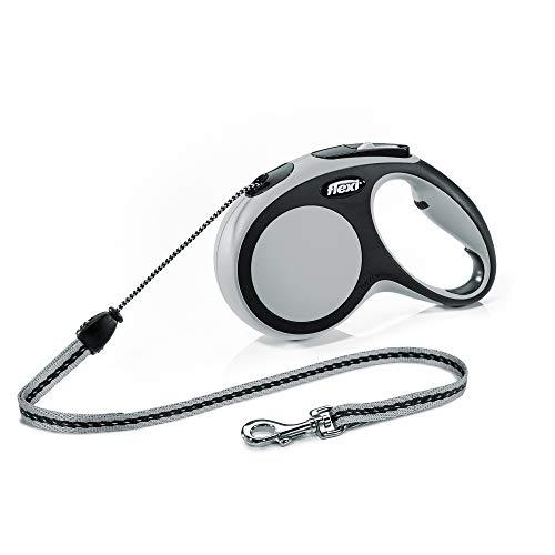 flexi New Comfort M Seil 8 m grau für Hunde bis 20 kg